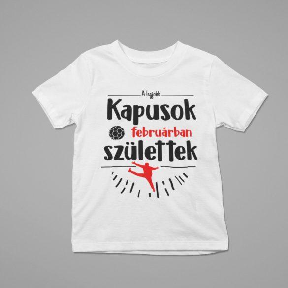 A legjobb kapusok (hónapban) születtek gyerek póló