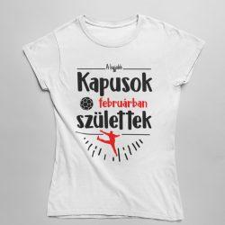 A legjobb kapusok (HÓNAPBAN) születtek VÁLASZTHATÓ HÓNAPPAL női póló