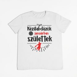 A legjobb kézilabdázók (hónapban) születtek VÁLASZTHATÓ HÓNAPPAL férfi póló