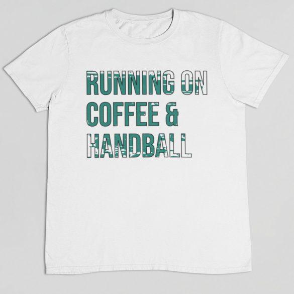 Coffee and handball férfi póló