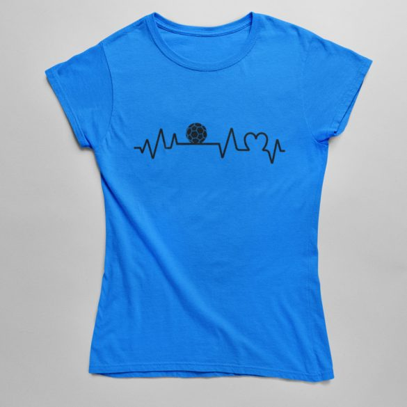 Handball heartbeat női póló