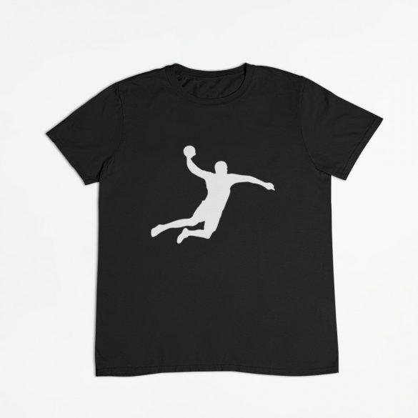 Handball silhuette férfi póló
