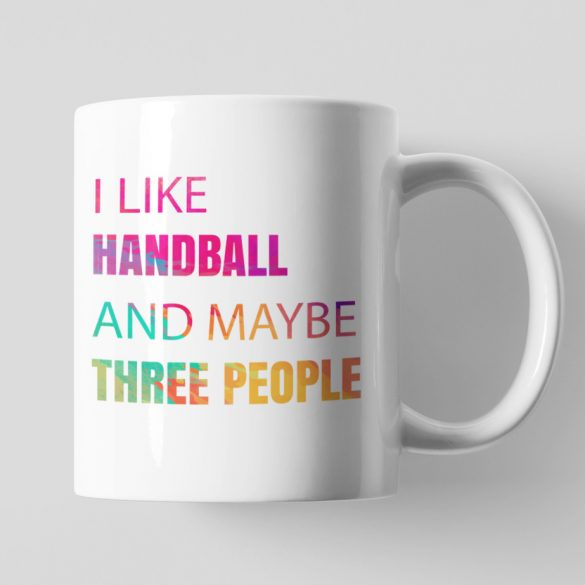 I like handball bögre