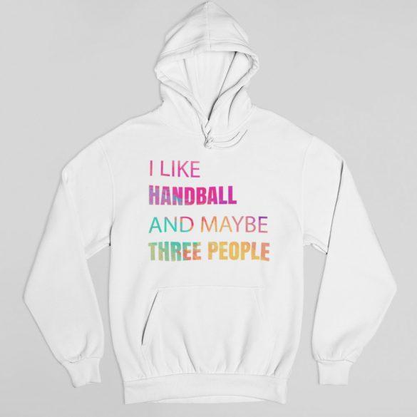 I like handball pulóver