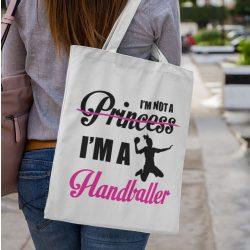 I'm not a princess vászontáska