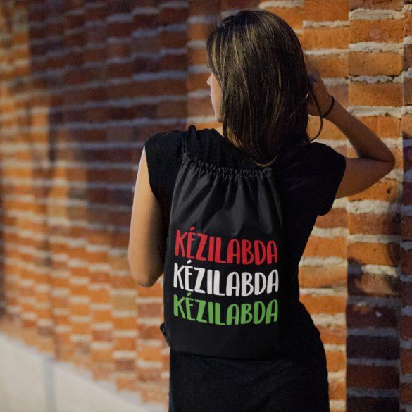 Kézilabda magyar színekben tornazsák