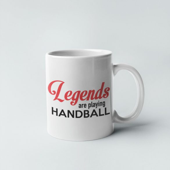 Legends are playing handball bögre