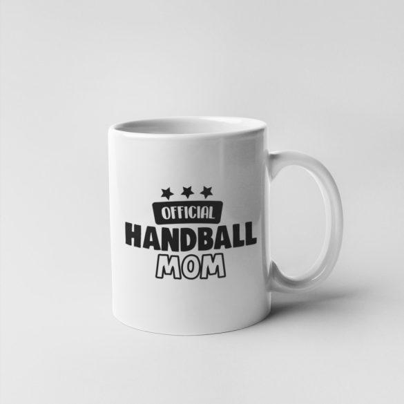 Official handball mom bögre