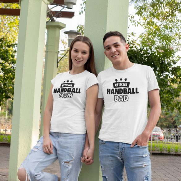 Official handball mom & dad páros póló