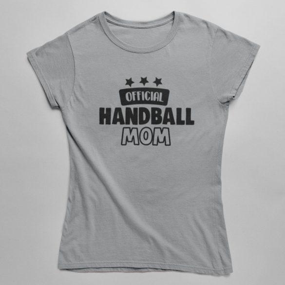 Official handball mom női póló