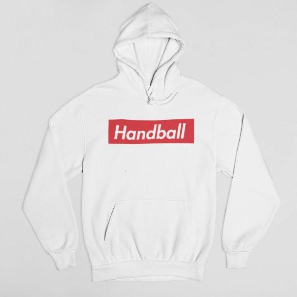 M-es fehér Handball simple  gyerek pulóver